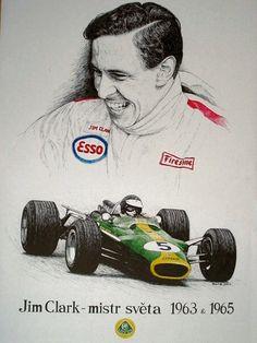 Jim Clark Tribute by machoart on DeviantArt Indy Car Racing, Indy Cars, Grand Prix, F1 Lotus, Formula 1 Car, Old Race Cars, Car Drawings, Automotive Art, Vintage Racing