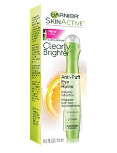 Clearly Brighter Anti-Puff Eye Roller - Under Eye Puffiness - Garnier care dark circles care logo care skin care tips care vision Eye Cream For Dark Circles, Dark Circles Under Eyes, Dark Circle Cream, Skin Active, Under Eye Puffiness, Dark Eye Makeup, Homemade Moisturizer, Under Eye Bags, Puffy Eyes
