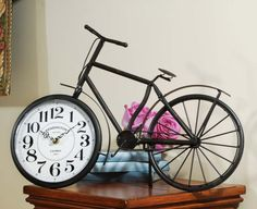 A Time Worth Remembering: Vintage Bicycle Clock