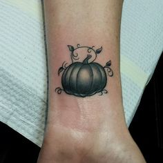 24 Halloween Tattoos That Will Get You in the Spooky Spirit: Halloween is a true beauty girl's holiday — you get to be creative with your eyeliner, DIY adorable manicures, and break out the glitter.