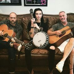 Come for Andy Biersack:Stay for the banjo.