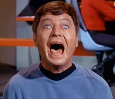 """Dr. McCoy accidentally injecting himself with too much cordrazine  In the Star Trek episode """"City on the Edge of Forever,"""" the doctor goes mad and starts screwing with the past. Nazi Germany wins World War II. We wonder if all this is listed on the cordrazine bottle under """"side effects."""""""