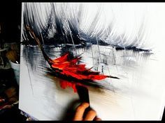 Slow Painting meditation - Rain - by Dranitsin - YouTube