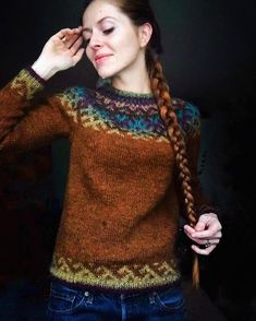 Crochet Patterns Sweter Only the photos remained, and the remains of the yarn . Pull Crochet, Knit Crochet, Crochet Gifts, Free Crochet, Fair Isle Knitting, Knitting Yarn, Motif Fair Isle, Knitting Patterns, Crochet Patterns