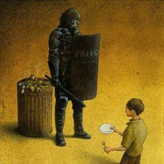 Garbage, Pawel Kuczynski. Who is the real garbage?