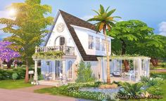 Sims 4 CC's - The Best: House by Ruby's Home Design