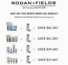 20% OFF Sale through March 9!! Purchase any full regimen + Lash Boost and get 20% OFF BOTH!!!  Message me to order!  Beth Caldwell, Rodan+Field Lll Consultant