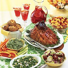 sweet-hot plum-glazed ham | recipe | easter dinner and hams