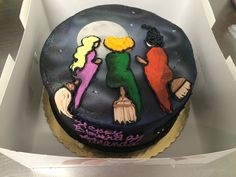 The Three Witches Cake