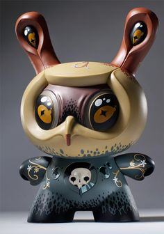 Part plant, animal, human and Dunny, Jason Limon's new Atropa Dunny goes to fruition this Thursday, April 26. Limited to 1,000 pieces worldwide.