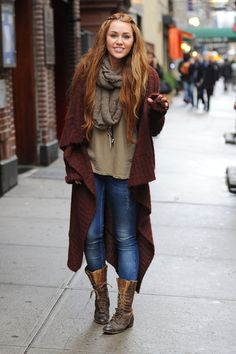Tips on Doing Boho Winter Style