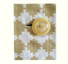 1950s60s AtomicMOD Gold and white Jacket from OGDEN by fifisfinds
