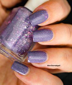 Nailsreloaded Challenge - Glitter   Reviernägel