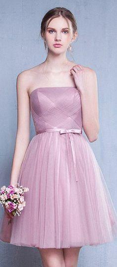opetite robe d'anniversaire princesse bustier droit en tulle