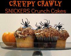 Halloween Celebrations - Creepy Crawly SNICKERS Crunch Cakes Plus Vampire Blood & Guts Floats #SpookyCelebration #shop #cbias
