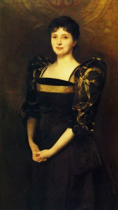 George Lewis (Elizabeth Eberstadt) - John Singer Sargent - Completion Date: 1892 Beaux Arts Paris, Living In London, Baronet, Oil Canvas, Charcoal Drawing, American Artists, Great Artists, Art History, Les Oeuvres