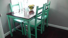 Ikea hack table LOVE