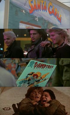 The Lost Boys (Joel Schumacher) 1987 80s Movies, Horror Movies, Good Movies, Movie Tv, Awesome Movies, Lost Boys Movie, The Lost Boys 1987, Os Goonies, King Kong