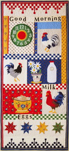 American Jane Patterns Americanjane Merry Go Round Quilting Tips, Quilting Projects, Quilt Kits, Quilt Blocks, Quilt Patterns, Sewing Patterns, Chicken Quilt, Animal Quilts, Hen House