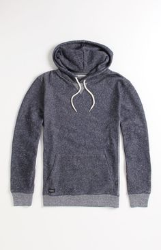 I don't know why but this looks soo comfy to wear(: WeSC Toby Hoodie