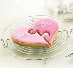 Heart Puzzle Cookie Cutter Set of 2  http://www.fancyflours.com/product/Heart-Puzzle-Cookie-Cutter-Set-of-2/valentines-party-theme