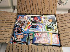 nice Baseball cards Sports cards Medium flat rate box full of Sports Cards - For Sale View more at http://shipperscentral.com/wp/product/baseball-cards-sports-cards-medium-flat-rate-box-full-of-sports-cards-for-sale/