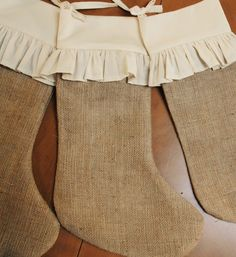 Hey, I found this really awesome Etsy listing at http://www.etsy.com/listing/53914121/burlap-stockings