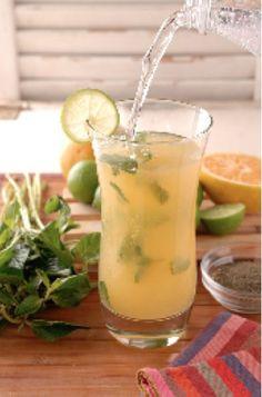 Refresco de té verde