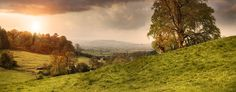 Image result for long wall hills cotswolds