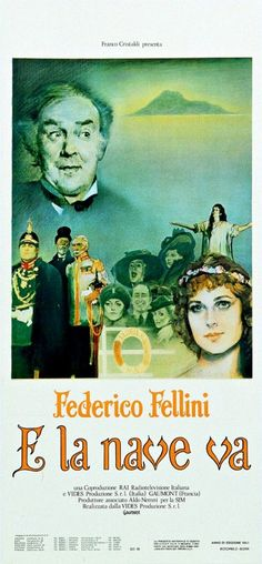 E la nave va - And the Ship Sails On..- Federico Fellini