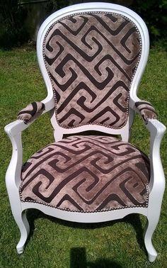 fauteuil ancien style Louis philippe