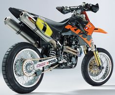 KTM Supermoto Racebikes. I need a street legal version of this