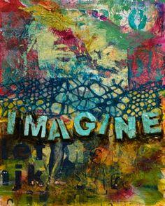Sandra Duran Wilson's painting - Imagine