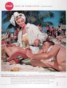 1958 Coca Cola Varadero Beach