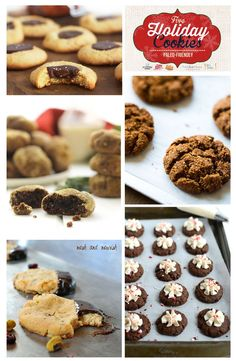 Paleo Holiday Cookie Roundup - Your favorite Christmas cookies!