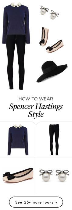 """Pretty little liars: Spencer Hastings inspired outift."" by nadialleather on Polyvore featuring Ström, Oasis, Human Premium and Eugenia Kim"