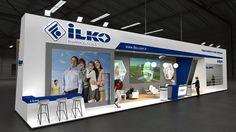 Exhibition Stand Design on Behance: