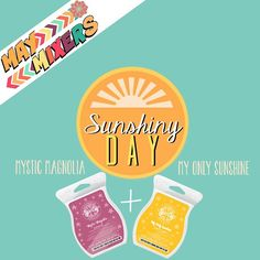 Scentsy May Mixers! Mystic Magnolia + My Only Sunshine. #MixIt https://amyskeensscents.scentsy.us