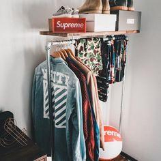 Pin by Men's Fashion on Menswear & Streetwear in 2019 Outfit Generator, Hypebeast Room, Shoe Room, Gentlemen Wear, Bedroom Slippers, Pinterest Fashion, Bedroom Decor, Bedroom Ideas, Menswear