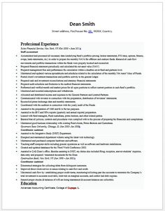 senior accountant resume sample resumeaccounting - Sample Resume For Accountant