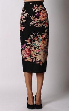 Gorgeous pencil skirt. by goga.roca