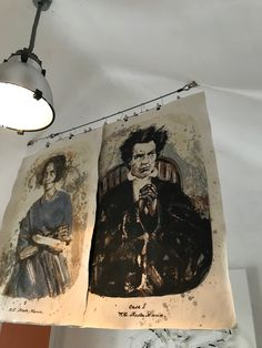 Bethlem is the oldest extant psychiatric hospital in Europe. The artist created these carborundum prints from 'before' photos by Henry Hering, depicting the two patients before and after their 'cure'. Psychiatric Hospital, Past Tens, Limited Edition Prints, Cure, Sculptures, The Past, Old Things, Fine Art Prints
