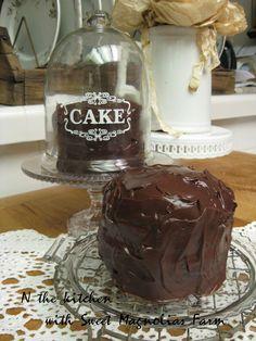 Sweet Magnolias Farm: Chocolate Buttermilk Cake ... Mmmm Mmmm Good ~ RECIPE ~ In the Kitchen with Sweet Magnolias Farm