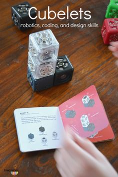 Robotics for Kids with Cubelets - such a cool STEM building activity for kids!