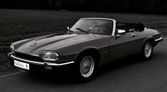 Wind in the hair, while cruising on a Jaguar XJS Convertible