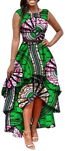 Looking for Womens African Print High Low Dashiki Dress Maxi Sleeveless Summer Party Dress ? Check out our picks for the Womens African Print High Low Dashiki Dress Maxi Sleeveless Summer Party Dress from the popular stores - all in one. African Inspired Fashion, Latest African Fashion Dresses, African Print Dresses, African Print Fashion, Africa Fashion, African Dress, Fashion Prints, African Prints, African Women Fashion