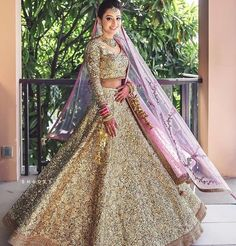 net sequins embroidered lehenga choli pink embroidered dupatta indian occasion bridal indian wedding wear Gold net sequins embroidered lehenga choli pink embroidered dupatta indian occasion bridal indian w Indian Wedding Wear, Indian Bridal Outfits, Indian Bridal Fashion, Indian Dresses, Indian Wear, Indian Attire, Indian Weddings, Indian Clothes, Indian Style