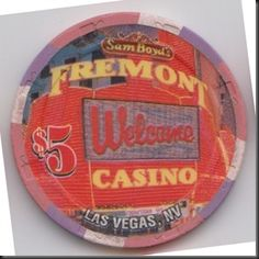 This chip is from Sam Boyd's Freemont Casino in Las Vegas, Nevada.