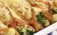 Crespelle ripiene ai broccoletti - La ricetta di Buonissimo