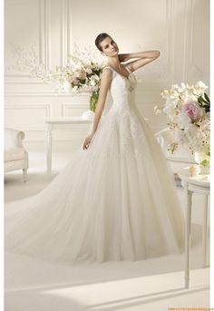 Vestido de novia White One Nilad 2013